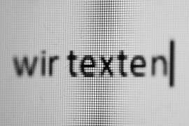 Texterstellung